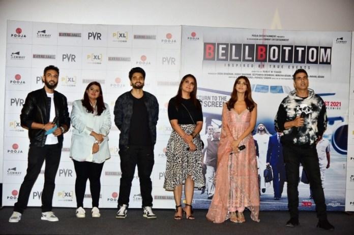 Akshay, Vaani, Lara celebrate 'Bell Bottom' trailer launch in Capital    MorungExpress   morungexpress.com