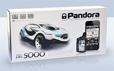 Автосигнализация Pandora DXL 5000 поступила в розничную продажу