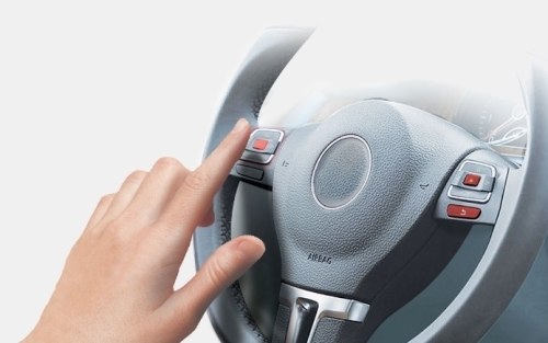 Авторизация владельца методом введения PIN-кода на руле