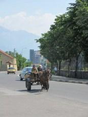Straßenszene in Shkoder