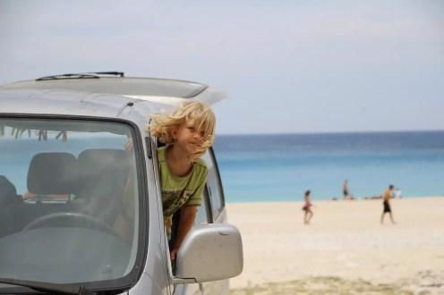 Myrtos Strandparking