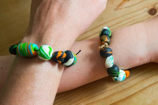 Armbänder für Babsi und Yanni