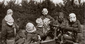 juli 1917 hevige gevechten en gasaanvallen