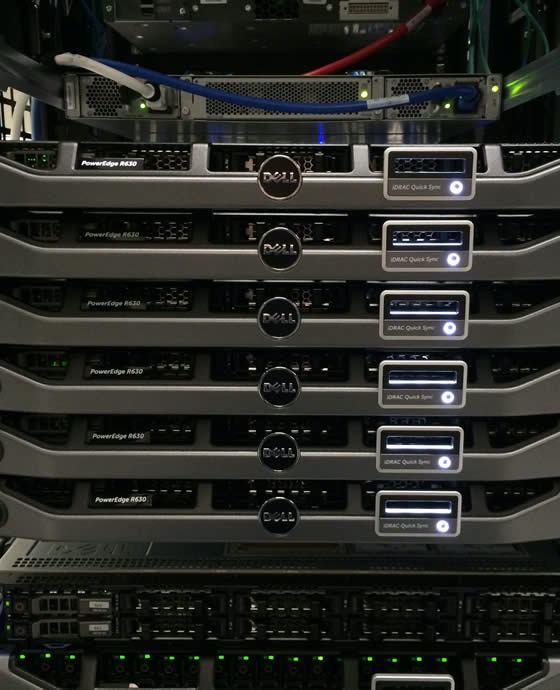 server hosting colocation private