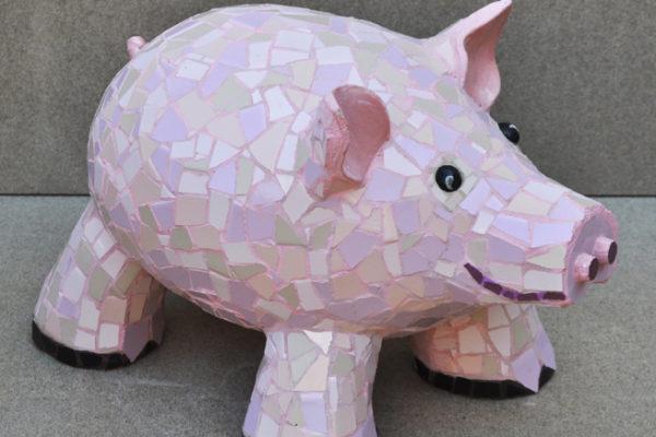 Pig, 65cm x 45cm,  27kg.