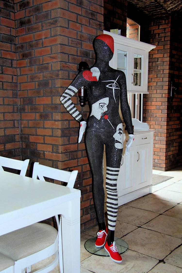 Luxury Decorative Art Mannequins London Decorative Mosaic