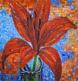 fashionista mosaic art