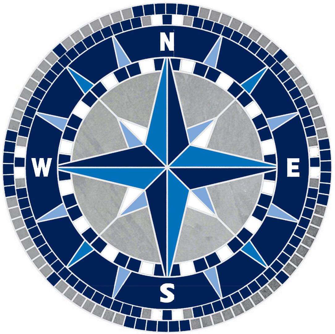 compass rose mosaics mosaics your way