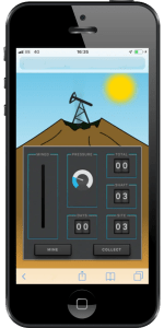 Screen shot of the mining game by Mosaic Tasks