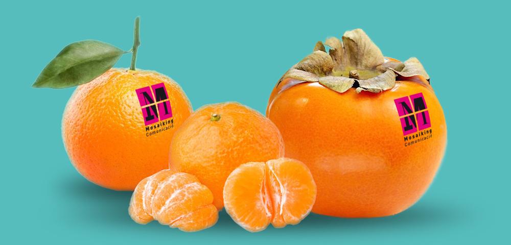 Fruita, també de marca