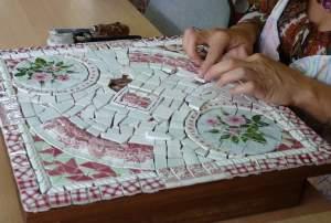 Mosaique vaisselle cassée