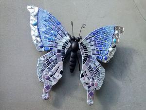 Vlinder mozaïek