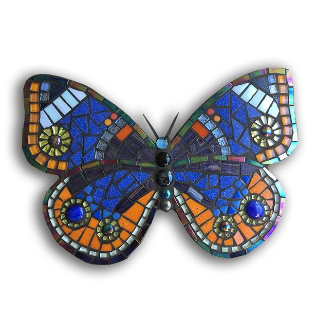mozaiekpakket vlinder, mosaickit butterfly