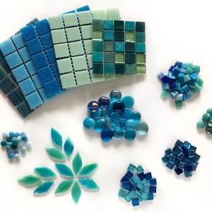 Water_kleurpakket mozaïek