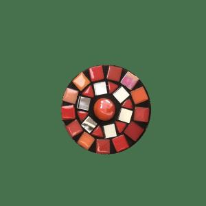 Ring 7cm rood sun catcher