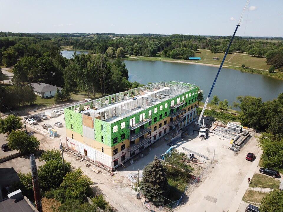 vista-blue-drone-shot-building