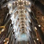Sagrada Familia treetops