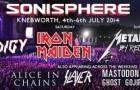Sonisphere – 10 band update