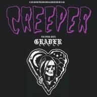 Creeper Grader 2016 tour poster
