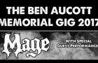 Second Ben Aucott (Mage) Memorial Gig on November 25th