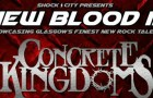 Gig Review: New Blood III – Concrete Kingdoms / Manifold / Uproar – Hard Rock Cafe, Glasgow (9th March 2018)