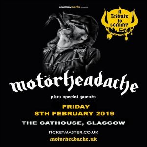Gig Review: Motörheadache – The Cathouse, Glasgow (8th February 2019)
