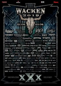 Easter update: Wacken add 53 new bands
