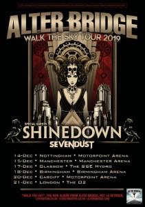 Tour News: Alter Bridge (inc new album!) with Shinedown + Silverdust / Delain / Thrice + Refused