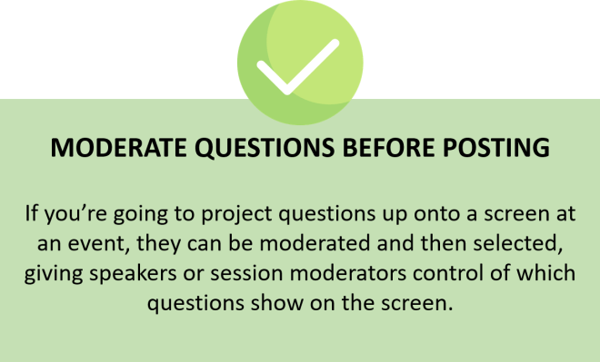 moderate questions - mosio q&a | text messaging software