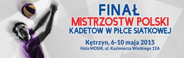 baner mistrzostwa Polski Kadetów strona
