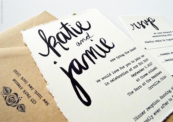 Fun Rustic And Vine Wedding Invitations Mospensstudio
