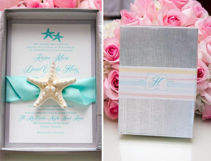 Elegant Beach Themed Wedding Invitations Wedding Invitation Ideas
