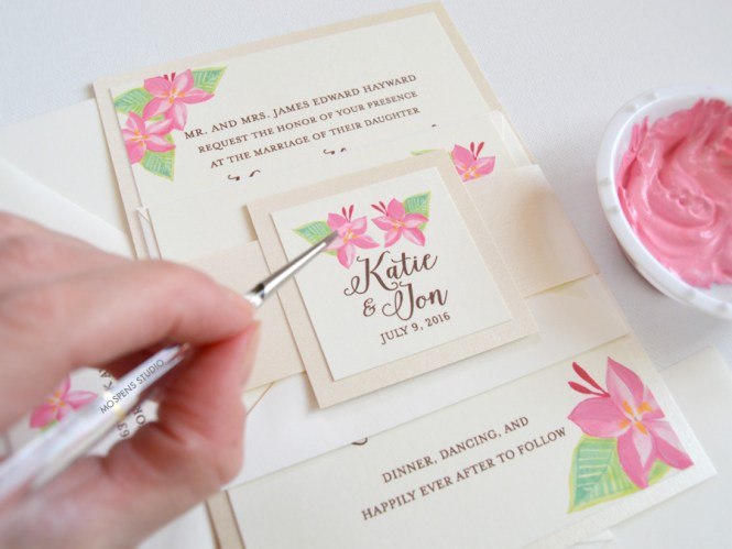Hand Painted Invitations Cobypic Com