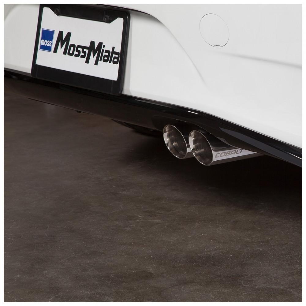 silencer exhaust cobalt dual tip