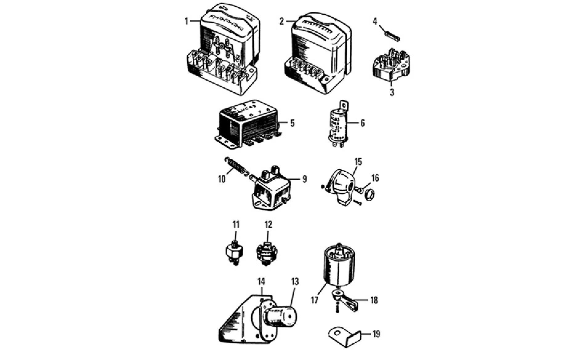Switches Fuses Amp Regulators