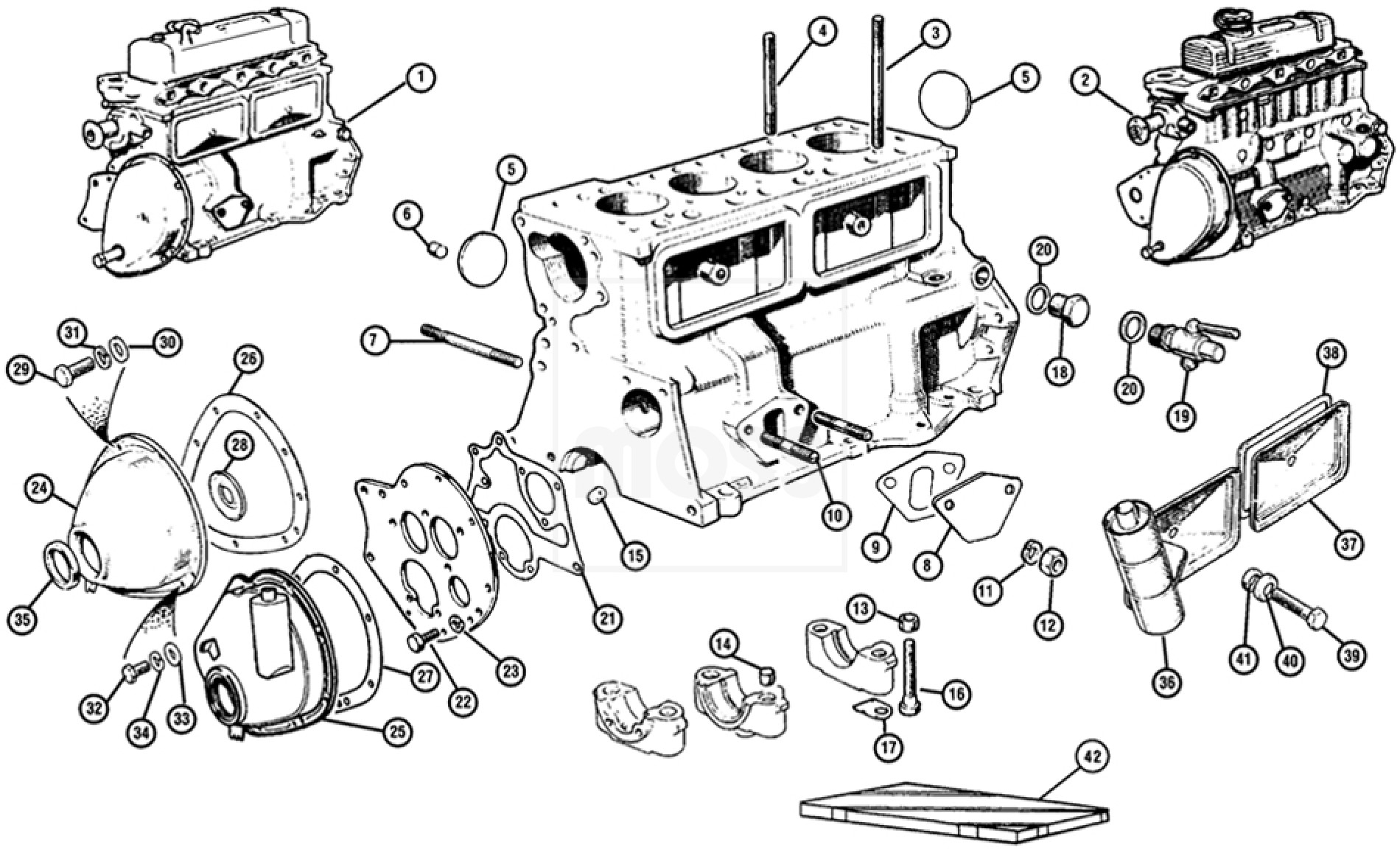 External Engine Components
