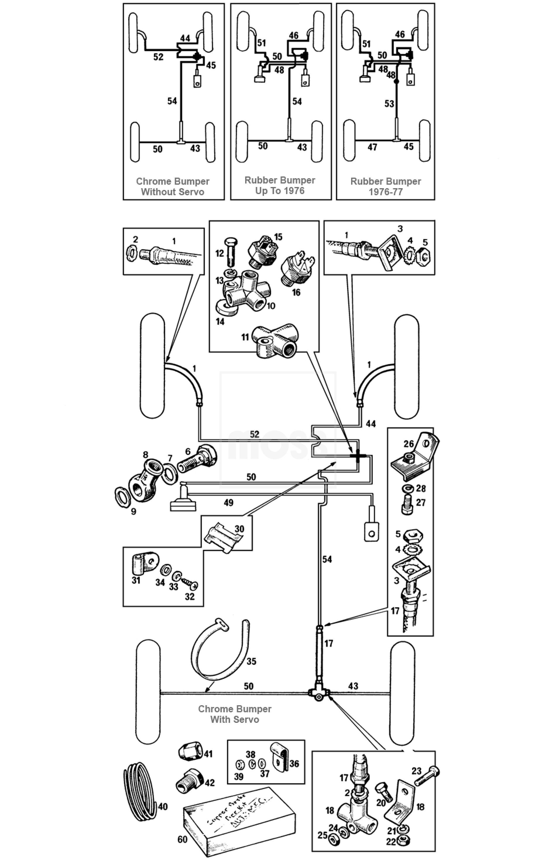 Brake Pipes Amp Hoses Single Line System
