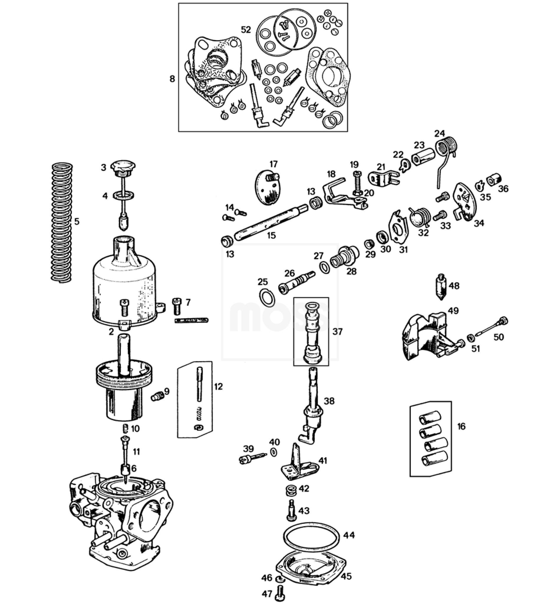 Carburettors Su Hif4