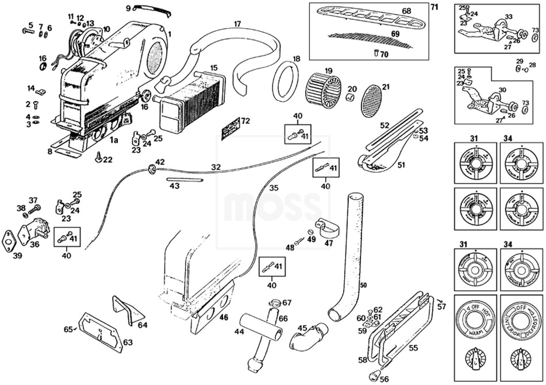 Heater Unit Amp Demister System