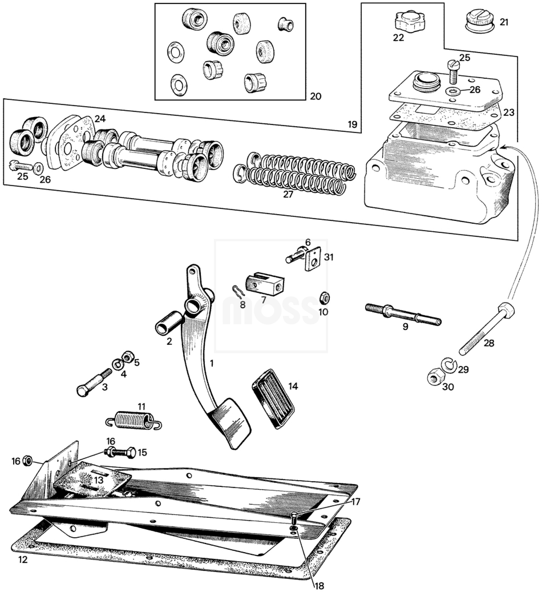 Mg Midget Brake Switch