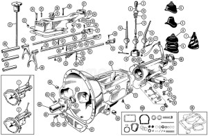 Parts For 1969 Mg Midget  Wiring Diagram And Fuse Box