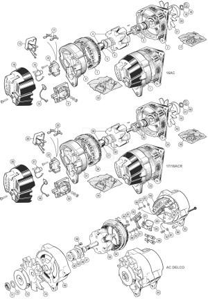 Lucas 18 Acr Alternator Wiring Diagram  Somurich