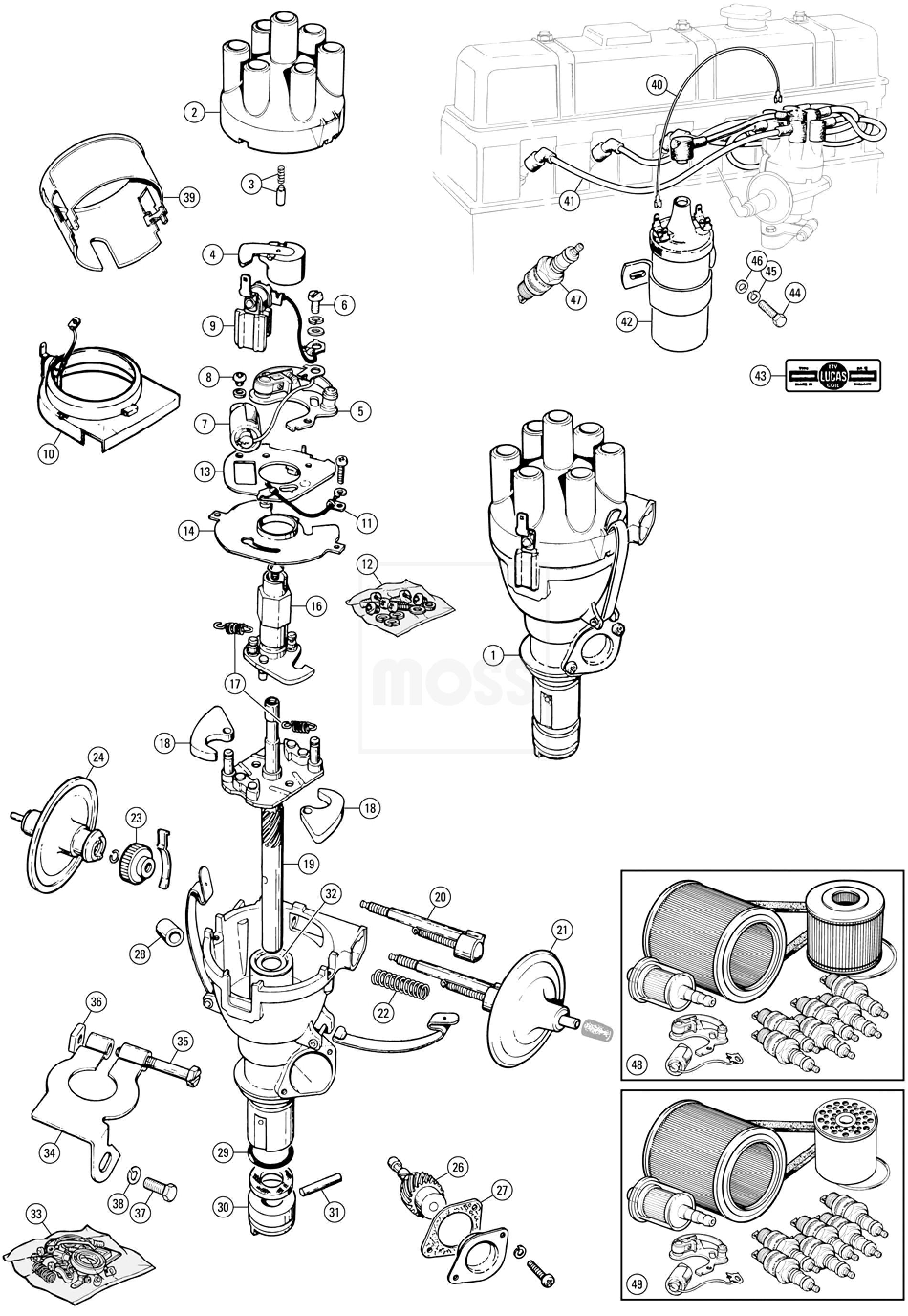 Standard Ignition System Amp Distributors