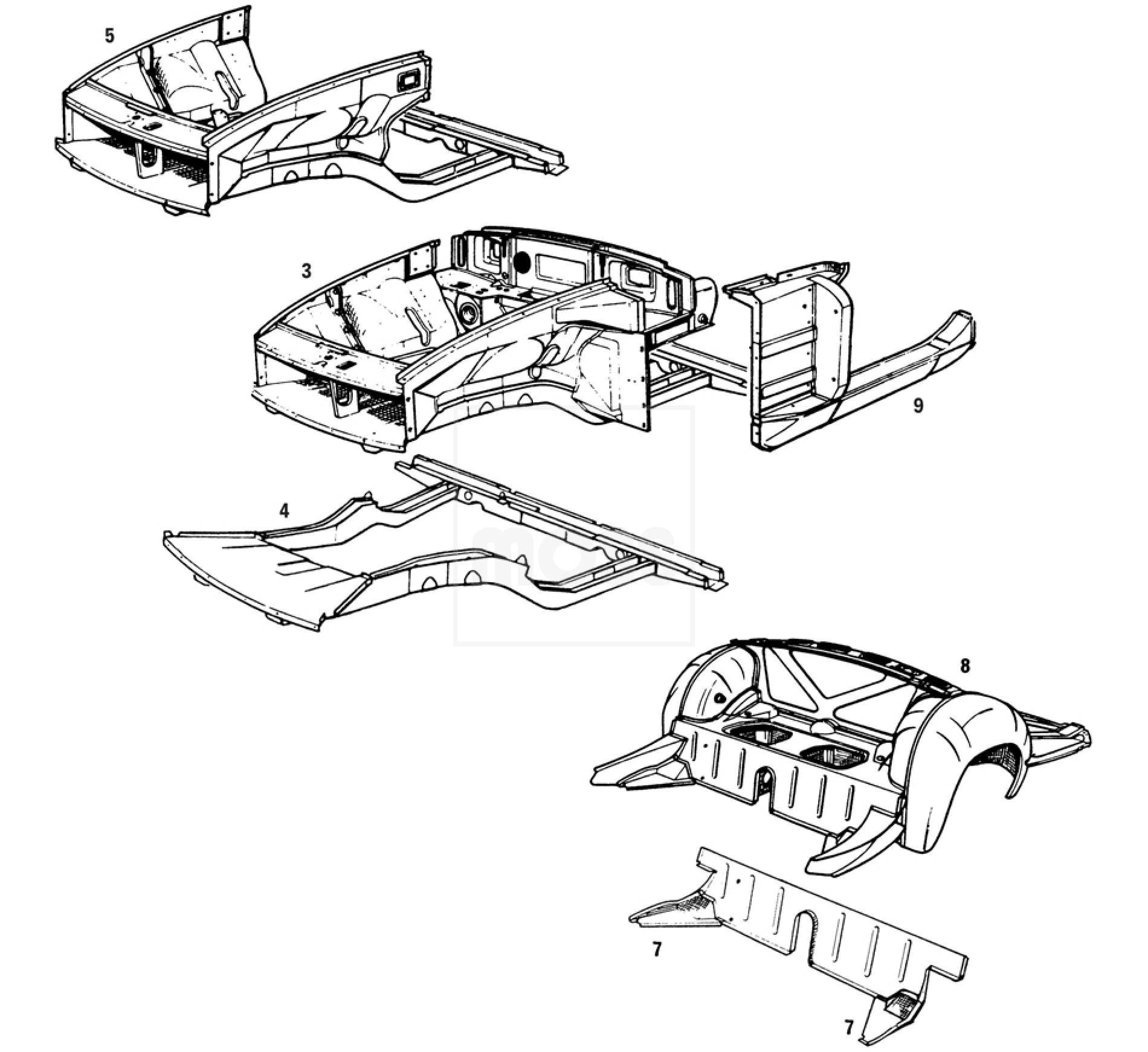 Chassis Sub Assemblies