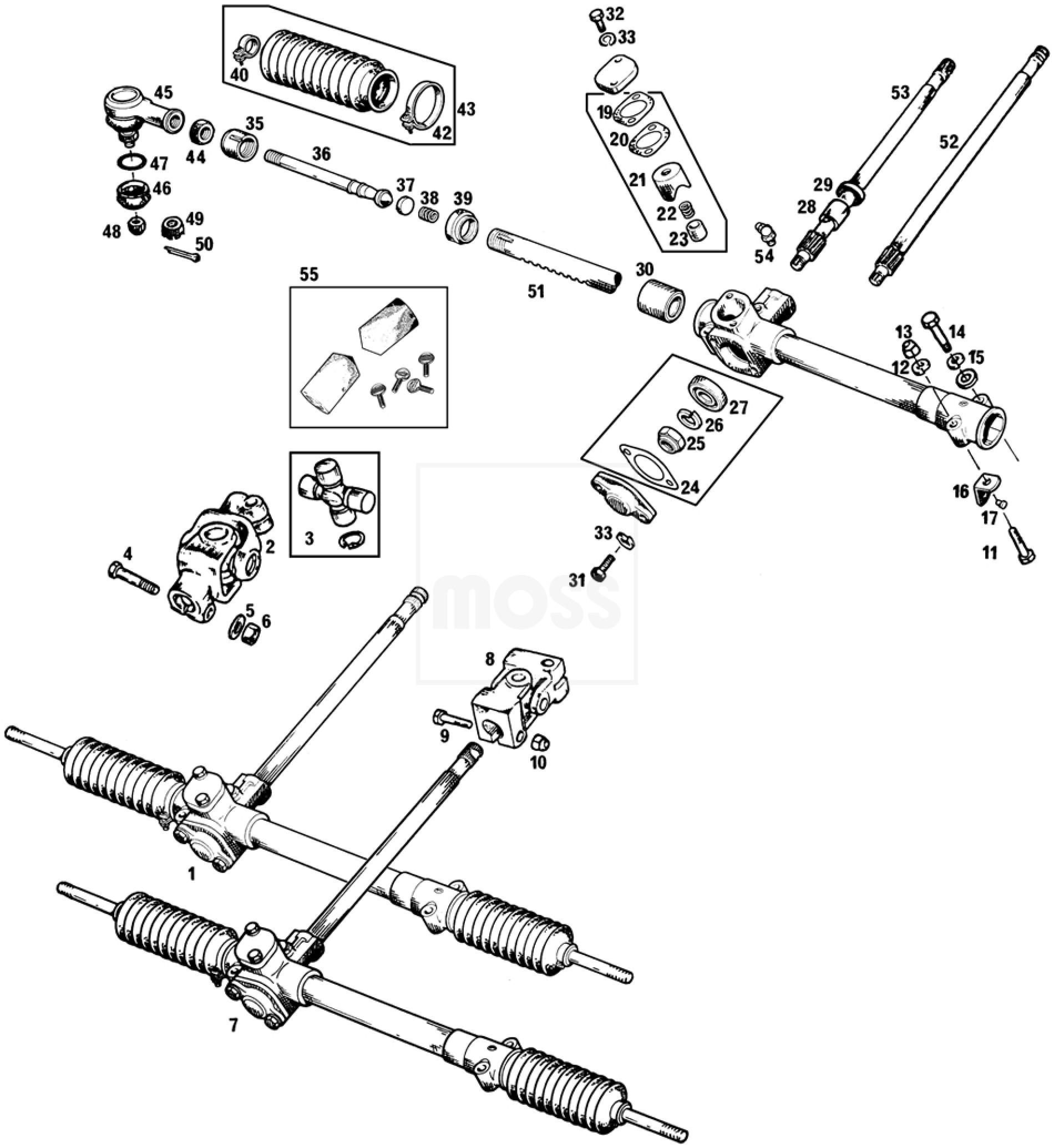 Steering Racks Amp Fittings