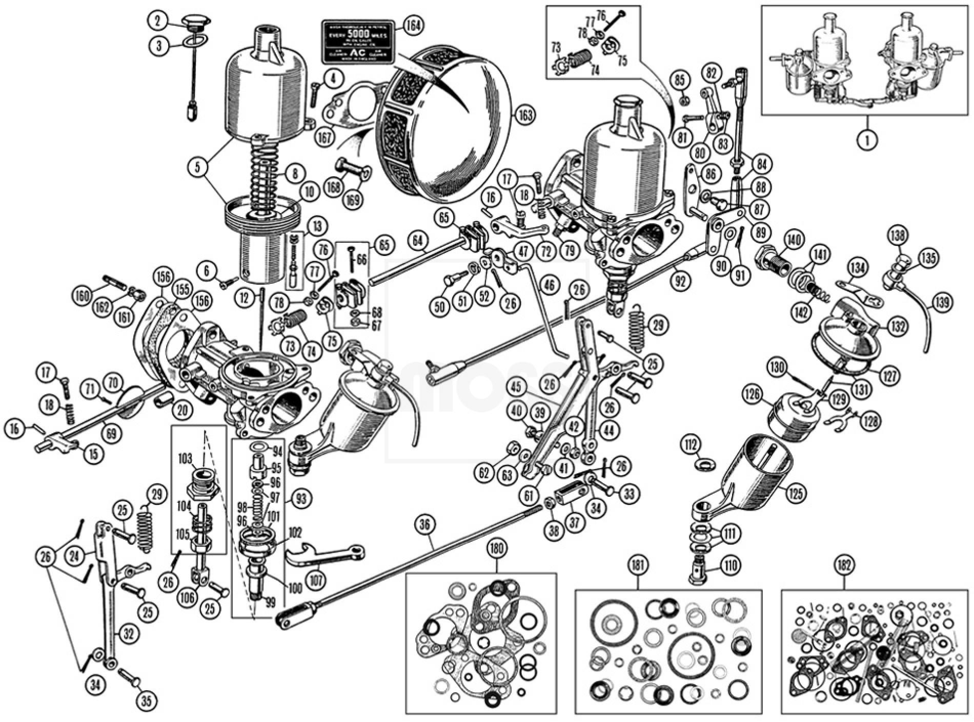 Carburettors Amp Air Cleaners H4 Su