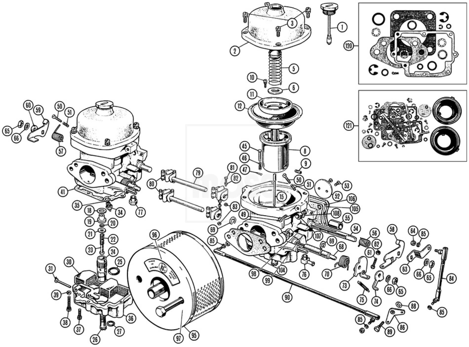 Carburettors Amp Air Cleaners 175cd Zenith Stromberg