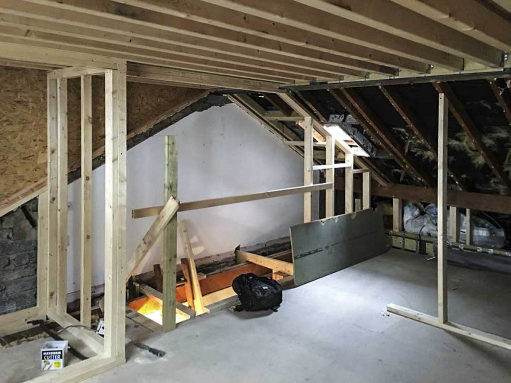 creating new living space with a loft conversion