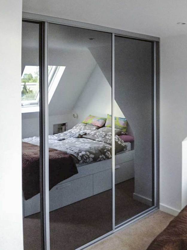fitted wardrobes for additional storage solutions in a loft conversion