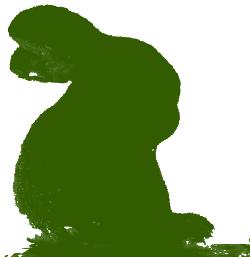 苔うさぎ「ギンゴケ」